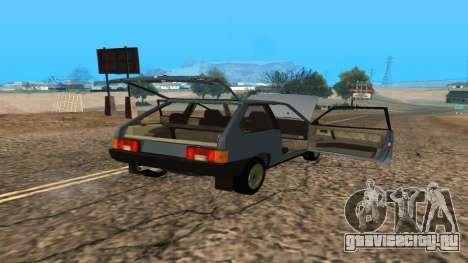 ВАЗ 2108 для GTA San Andreas салон