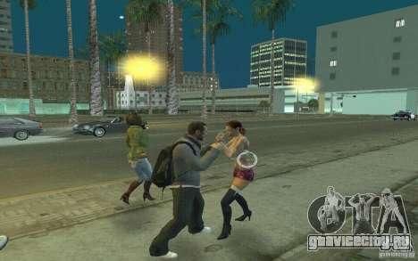 Анимации из GTA IV для GTA San Andreas шестой скриншот