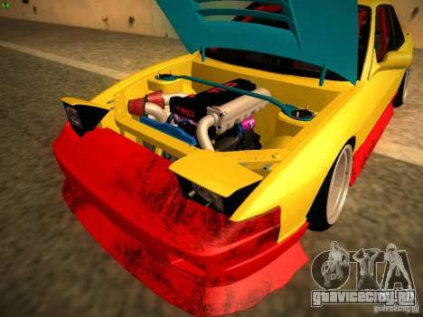 Nissan Onevia 2JZ для GTA San Andreas вид изнутри