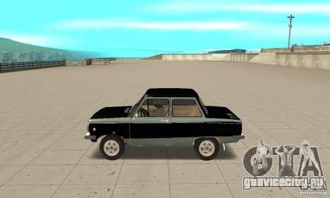 ЗАЗ 968М ver 1.0 для GTA San Andreas вид слева