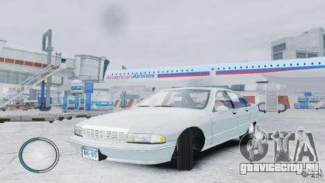 Chevrolet Caprice 1993 для GTA 4
