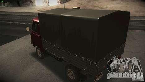 УАЗ 3303 Головастик для GTA San Andreas вид изнутри