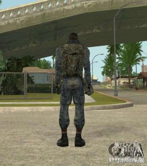 Группировка Наёмники из сталкера для GTA San Andreas третий скриншот