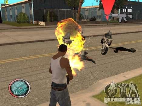 Дополнение к GTA IV HUD для GTA San Andreas седьмой скриншот