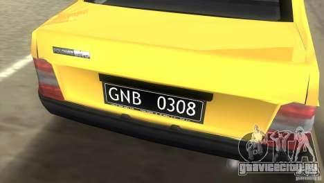 FSO Polonez Atu для GTA Vice City вид сзади слева