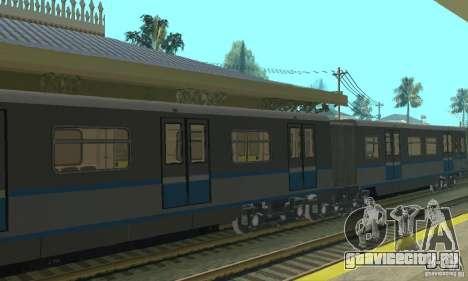 Русич 4 train для GTA San Andreas вид сзади