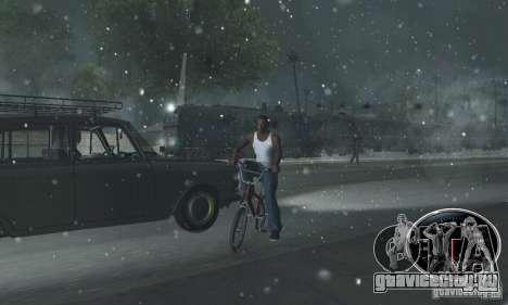 Крепкий Ездок для GTA San Andreas третий скриншот