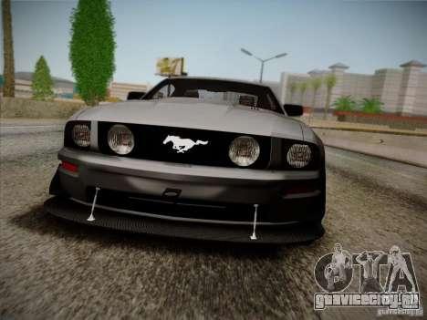 Ford Mustang GT 2005 для GTA San Andreas вид слева