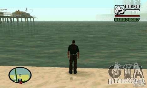 Плыть в 2 раза быстрее для GTA San Andreas
