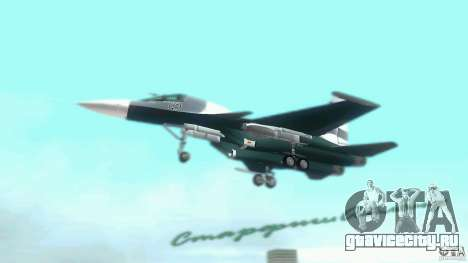 Vice City Air Force для GTA Vice City вид справа