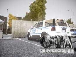 Ford Expedition Truck Enforcement для GTA 4 вид сзади слева