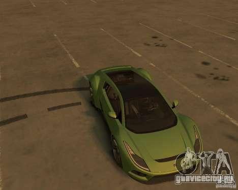 2010 Saleen S5S Raptor для GTA 4 вид сзади
