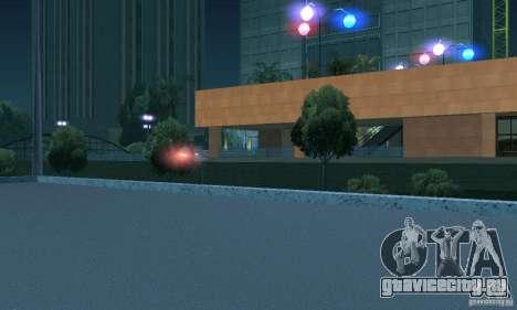 Пурпурный цвет фар для GTA San Andreas пятый скриншот