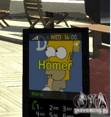 Homer Simpsons Theme для GTA 4