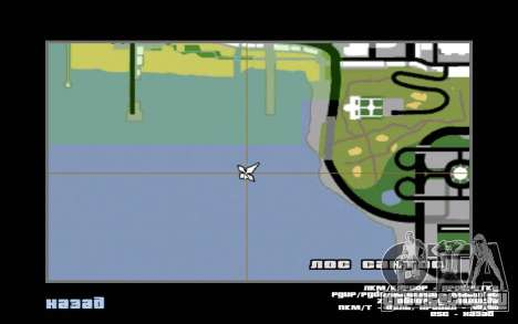 Mountain map для GTA San Andreas седьмой скриншот