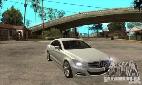 Mercedes-Benz CLS 350 2011 для GTA San Andreas вид сзади