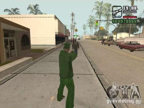 Ragdoll + Endorphin mod v1.0 для GTA San Andreas второй скриншот