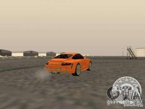 Porsche 911 GT3 Style Tuning для GTA San Andreas вид сзади слева