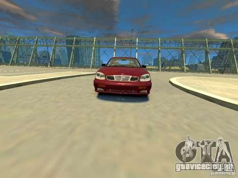 Daewoo Leganza CDX для GTA 4 вид справа