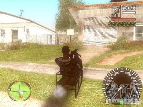 Сани для GTA San Andreas вид слева