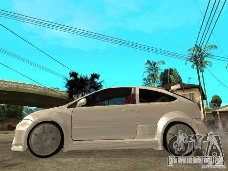 Ford Focus Tuned для GTA San Andreas вид слева