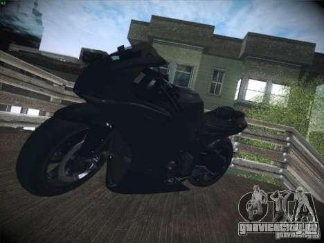 Aprilia RSV4 для GTA San Andreas вид изнутри