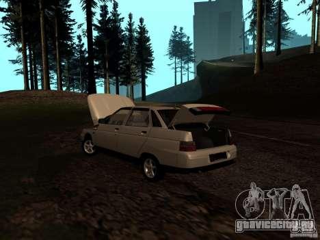 ВАЗ 21103 для GTA San Andreas вид сверху