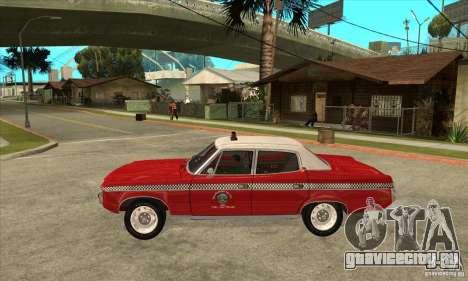 AMC Matador Taxi для GTA San Andreas вид слева
