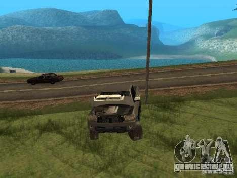 Toyota Tacoma 2011 для GTA San Andreas вид сбоку