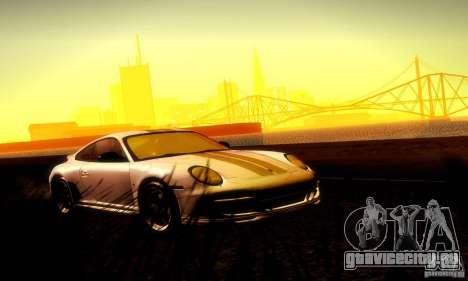 Porsche 911 Sport Classic для GTA San Andreas вид сверху