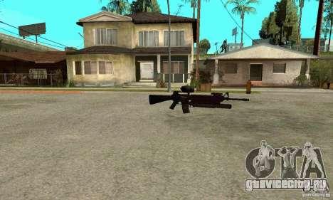 M16A4 + M203 для GTA San Andreas третий скриншот