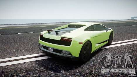 Lamborghini Gallardo LP570-4 Superleggera 2010 для GTA 4 вид сбоку