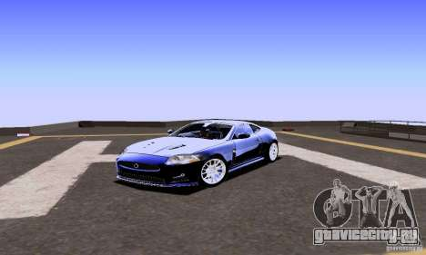 Jaguar XKRS для GTA San Andreas