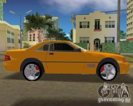Mercedes-Benz SL600 1999 для GTA Vice City вид слева