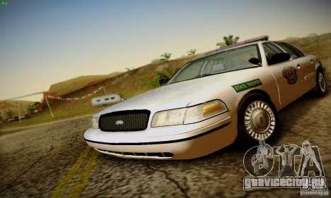 Ford Crown Victoria Missouri Police для GTA San Andreas