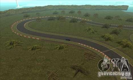 Трасса GOKART Route 2 для GTA San Andreas одинадцатый скриншот