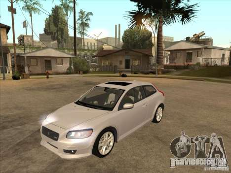 Volvo C30 для GTA San Andreas вид слева