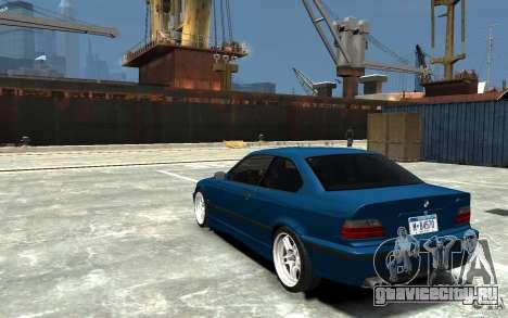 BMW M3 E36 v1.0 для GTA 4 вид справа
