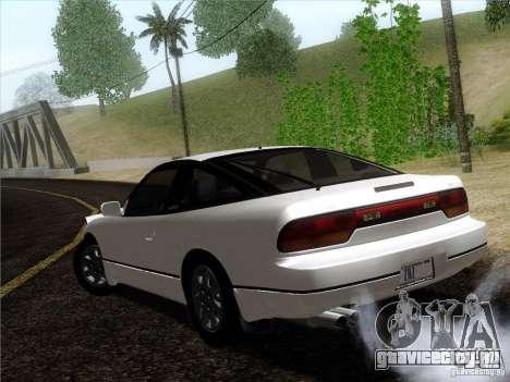 Nissan 240SX S13 - Stock для GTA San Andreas вид слева