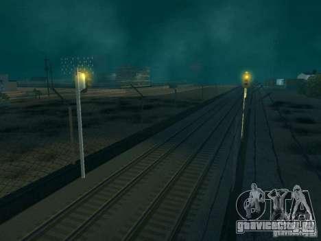 Железнодорожные светофоры для GTA San Andreas третий скриншот