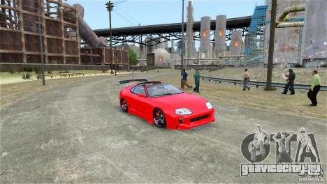 Toyota Supra RZ 1998 v 2.0 для GTA 4