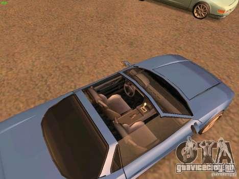 Infernus Revolution для GTA San Andreas вид слева