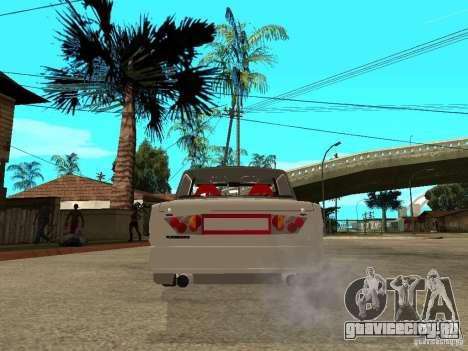 Ваз 2101 Tuning Style для GTA San Andreas вид сзади слева