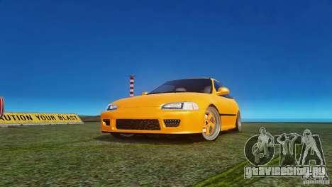 Honda Civic Tuned для GTA 4