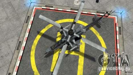 Bell AH-1Z Viper для GTA 4 вид справа