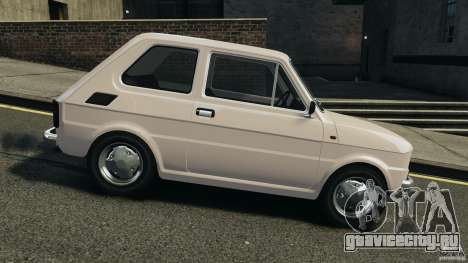 Fiat 126 Classic для GTA 4 вид слева