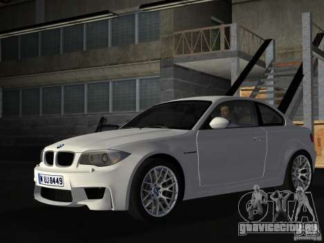 BMW 1M Coupe RHD для GTA Vice City