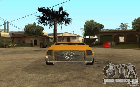 MGC Phantom для GTA San Andreas вид справа
