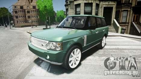 Range Rover Supercharged v1.0 для GTA 4