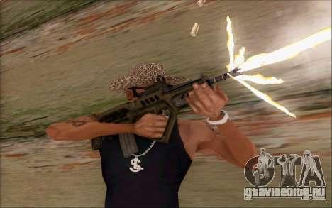 Tavor ctar-21 из WarFace v2 для GTA San Andreas четвёртый скриншот